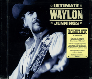 CD - Ultimate - Waylon Jennings