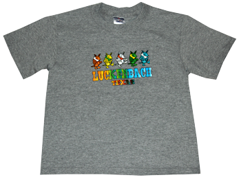 Youth Gray Armadillo Tee