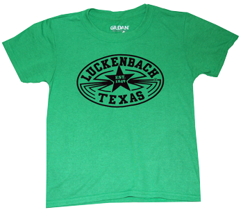 Youth Apple Green Performance Tee