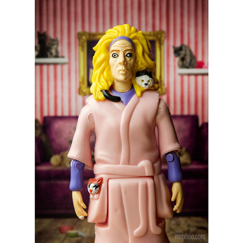 Crazy Cat Lady Action Figure - meow meow  - 2