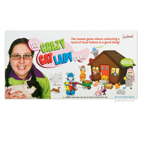 Crazy Cat Lady Board Game - meow meow  - 1