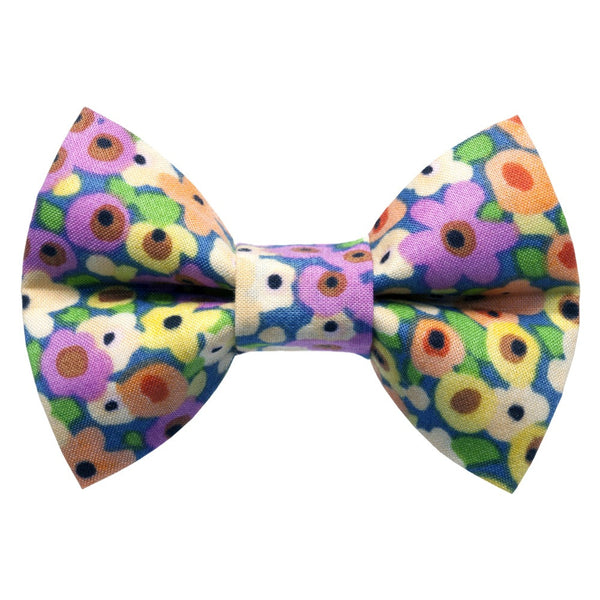 The Wildflower Bow Tie - meow meow