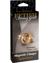 These beauties just scream luxury. Cast in high-quality metal and hand-polished to perfection, these jeweled nipple clamps feature a hygienic finish that is sleek, nonporous, and easy to clean. The clamps feature magnets that delicately squeeze your nipple to keep them hard and give you the perfect pinch every time.