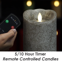 Candle Impressions Mirage Remote Control Timer