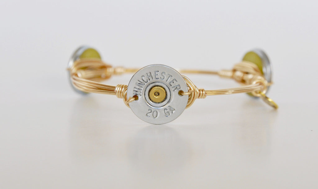 20 Gauge Shotgun Shell Bracelet - Chace & Co. LLC