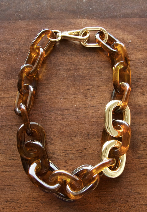 Tortoise Shell Necklace - Chace & Co. LLC