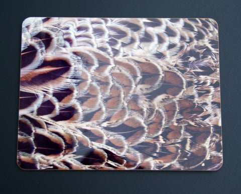 Pheasant Feather Placemats- Color 2