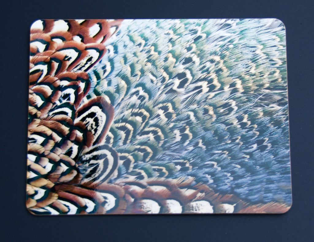 Pheasant Feather Placemats- Color 4