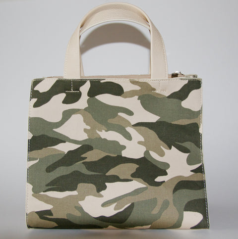 Denim Camouflage Mini Tote - Chace & Co. LLC