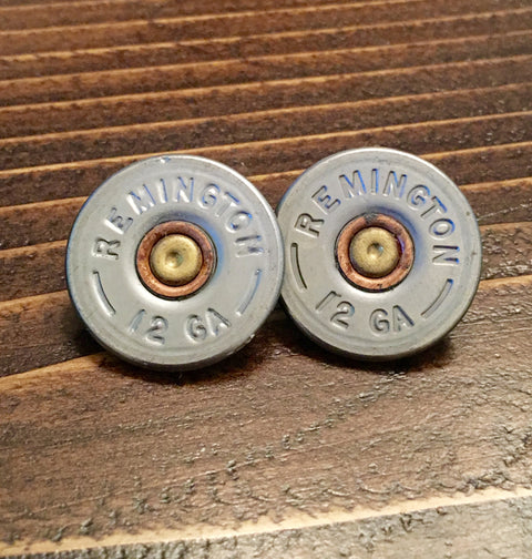 12 Gauge Shotgun Shell Earrings - Chace & Co. LLC