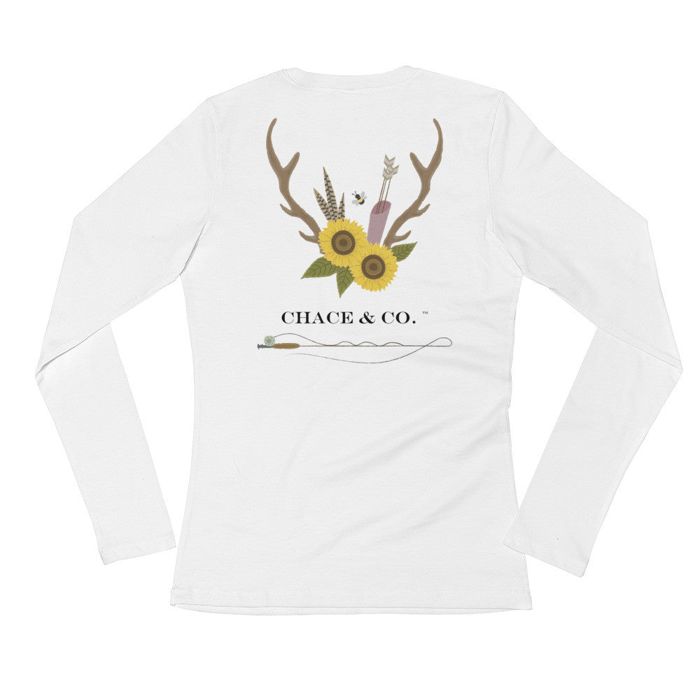 New Chace & Co. Logo Ladies' Long Sleeve T-Shirt