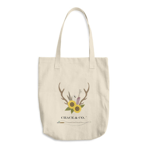 NEW Chace & Co. Logo Cotton Tote Bag