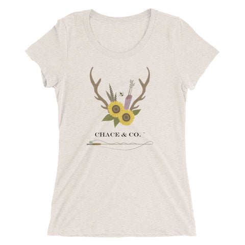 New Chace & Co. Logo Ladies' Short Sleeve T-shirt