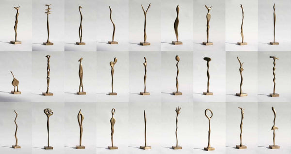 """The Party"" Bronze sculptures, various."