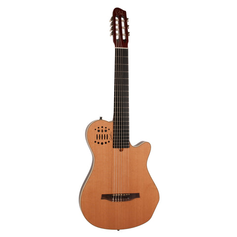 Godin Multiac Nylon Encore 7 7-String Nylon-String Acoustic-Electric Guitar with Gig Bag Godin Multiac Nylon Encore 7 7-String Nylon-String Acoustic-Electric Guitar with Gig Bag Acoustic-Electric Guitars Godin GuitarVault  - GuitarVault.com