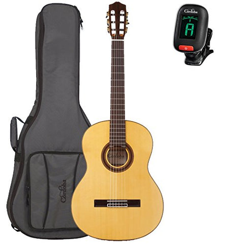 Cordoba F7 Acoustic Nylon String Flamenco Guitar with Gig Bag and Tuner Cordoba F7 Acoustic Nylon String Flamenco Guitar with Gig Bag and Tuner Nylon String Guitars Cordoba GuitarVault  - GuitarVault.com