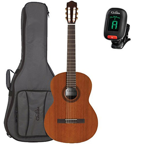 Cordoba C5 Acoustic Nylon String Guitar with Deluxe Cordoba Gig Bag and Tuner Cordoba C5 Acoustic Nylon String Guitar with Deluxe Cordoba Gig Bag and Tuner Nylon String Guitars Cordoba GuitarVault  - GuitarVault.com