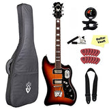 Guild S-200 T-Bird ATB Electric Guitar with Gig Bag and Accessory Pack, Antique Burst Guild S-200 T-Bird ATB Electric Guitar with Gig Bag and Accessory Pack, Antique Burst Solid Body Electric Guitars Guild GuitarVault  - GuitarVault.com