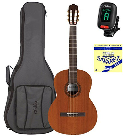 Cordoba C5 Nylon String Guitar with Deluxe Cordoba Gig Bag, String Set, and Tuner Cordoba C5 Nylon String Guitar with Deluxe Cordoba Gig Bag, String Set, and Tuner Nylon String Guitars Cordoba guitarVault  - GuitarVault.com