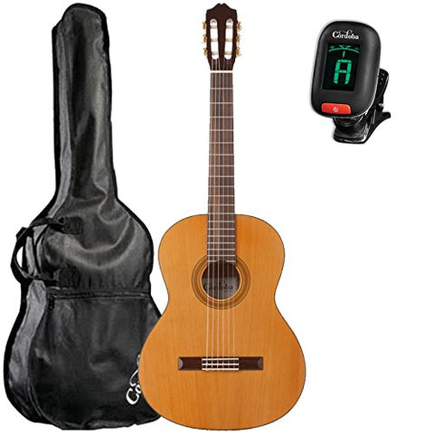 Cordoba C3M Classical Guitar with Cordoba Standard Gig Bag and Cordoba Clip-On Tuner Cordoba C3M Classical Guitar with Cordoba Standard Gig Bag and Cordoba Clip-On Tuner Nylon String Guitars Cordoba GuitarVault  - GuitarVault.com
