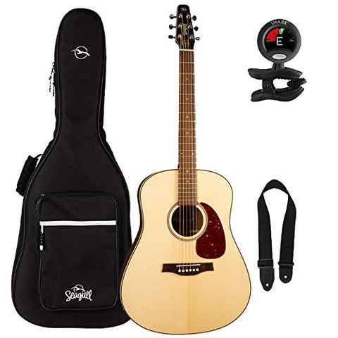 Seagull Maritime SWS SG Acoustic Guitar with Seagull Gig Bag, Seagull Tuner, and LM Strap Seagull Maritime SWS SG Acoustic Guitar with Seagull Gig Bag, Seagull Tuner, and LM Strap Acoustic Guitars Seagull guitarVault  - GuitarVault.com