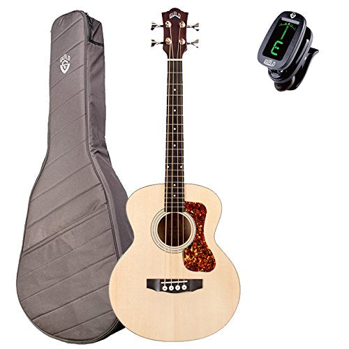 Guild Jumbo Junior Acoustic-Electric Compact Bass Guitar With Deluxe Gig Bag Guild Jumbo Junior Acoustic-Electric Compact Bass Guitar With Deluxe Gig Bag Acoustic-Electric Bass Guild GuitarVault  - GuitarVault.com