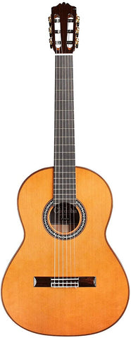 Cordoba C10 Parlor CD Acoustic Nylon String All Solid Wood Parlor Size Guitar with Polyfoam Case and Accessory Pack
