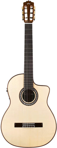 Cordoba GK Pro Negra [Gipsy Kings Signature Model] Acoustic Electric Nylon String Flamenco Guitar with Case