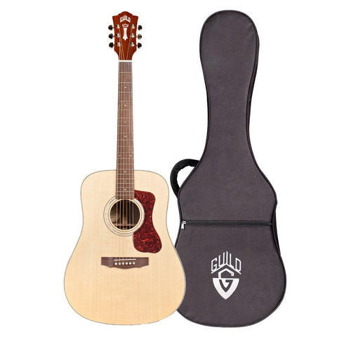 Guild D-150 Solid Wood Dreadnought Acoustic Guitar with Case, Natural Guild D-150 Solid Wood Dreadnought Acoustic Guitar with Case, Natural Acoustic Guitars Guild GuitarVault  - GuitarVault.com
