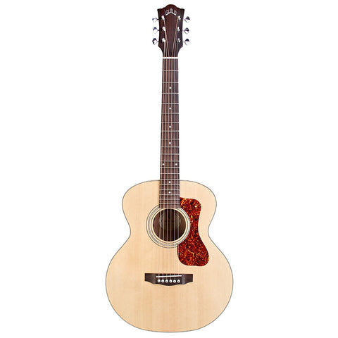 Guild Jumbo Junior Mahogany Acoustic-Electric Guitar with Deluxe Gig Bag Guild Jumbo Junior Mahogany Acoustic-Electric Guitar with Deluxe Gig Bag Acoustic-Electric Guitars Guild GuitarVault  - GuitarVault.com