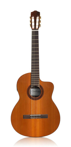 Cordoba C5-CET Classical Thinline Acoustic-Electric Guitar, Cordoba C5-CET Classical Thinline Acoustic-Electric Guitar, Nylon String Guitars Cordoba GuitarVault  - GuitarVault.com