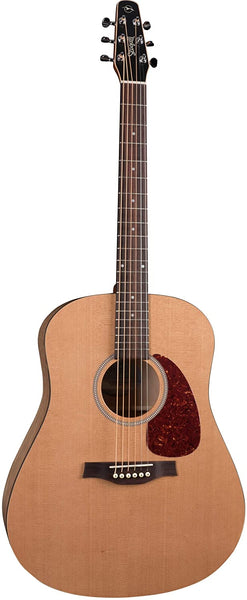 Seagull S6 Classic Dreadnought Body Acoustic-Electric Guitar, Natural (41237)