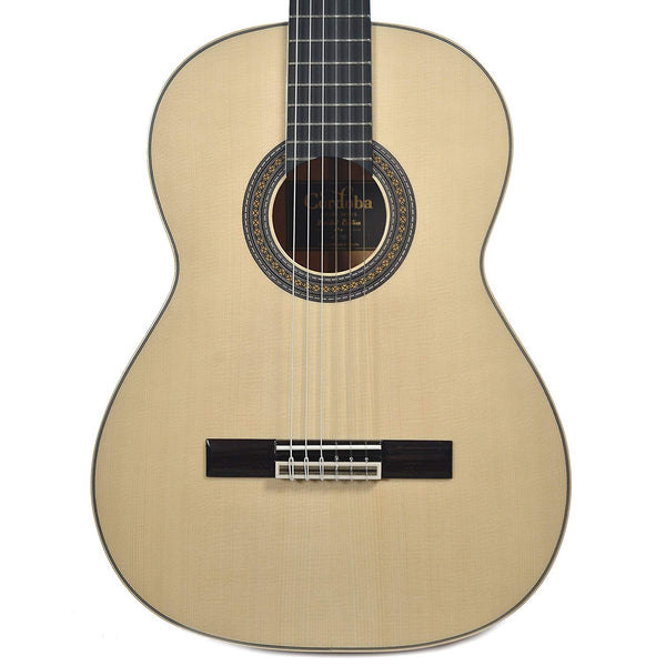 Cordoba 45 Limited European Spruce/Black and White Ebony w/ Humicase Cordoba 45 Limited European Spruce/Black and White Ebony w/ Humicase Nylon String Guitars Cordoba GuitarVault  - GuitarVault.com