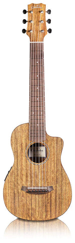 Cordoba Mini O-CE Travel Acoustic-Electric Nylon String Guitar With Cordoba Gig Bag Cordoba Mini O-CE Travel Acoustic-Electric Nylon String Guitar With Cordoba Gig Bag Nylon String Guitars Cordoba GuitarVault  - GuitarVault.com