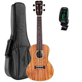 Cordoba 25C Solid Top Concert Acoustic Ukulele with Deluxe Gig Bag and Tuner Cordoba 25C Solid Top Concert Acoustic Ukulele with Deluxe Gig Bag and Tuner Ukuleles Cordoba GuitarVault  - GuitarVault.com
