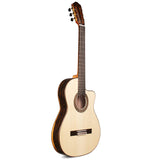 Cordoba 55FCE Negra Ziricote Thinbody Limited Flamenco Acoustic-Electric Guitar with Case Cordoba 55FCE Negra Ziricote Thinbody Limited Flamenco Acoustic-Electric Guitar with Case Nylon String Guitars Cordoba GuitarVault  - GuitarVault.com