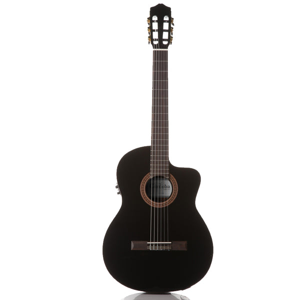 Cordoba C5-CEBK Acoustic Electric Nylon String Classical Guitar, Black Cordoba C5-CEBK Acoustic Electric Nylon String Classical Guitar, Black Nylon String Guitars Cordoba GuitarVault  - GuitarVault.com