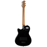 Godin A6 Ultra HG Two-Chambered Acoustic-Electric Guitar with Gig Bag, Black Godin A6 Ultra HG Two-Chambered Acoustic-Electric Guitar with Gig Bag, Black Acoustic-Electric Guitars Godin guitarVault  - GuitarVault.com
