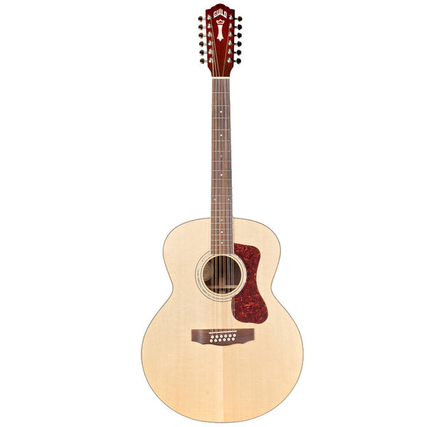 Guild F-1512E 12-String Acoustic-Electric Guitar with Guild Lightweight Case Guild F-1512E 12-String Acoustic-Electric Guitar with Guild Lightweight Case Acoustic-Electric Guitars Guild GuitarVault  - GuitarVault.com