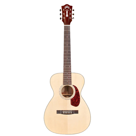 Guild M-140 Concert Size Acoustic Guitar in Natural Guild M-140 Concert Size Acoustic Guitar in Natural Acoustic Guitars Guild GuitarVault  - GuitarVault.com