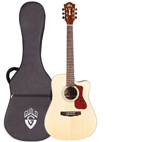 Guild D-150CE Acoustic-Electric Guitar With Gig Bag, Natural Guild D-150CE Acoustic-Electric Guitar With Gig Bag, Natural Acoustic-Electric Guitars Guild GuitarVault  - GuitarVault.com