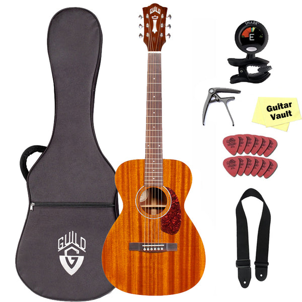 Guild Westerly Collection M-120E Acoustic-Electric Guitar with Lightweight Case and Accessory Kit, Natural Guild Westerly Collection M-120E Acoustic-Electric Guitar with Lightweight Case and Accessory Kit, Natural Acoustic-Electric Guitars Guild guitarVault  - GuitarVault.com