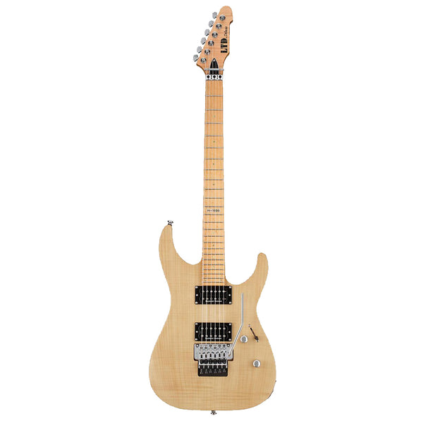 ESP M LM1000SEVNS Solid-Body Electric Guitar, Vintage Natural Satin ESP M LM1000SEVNS Solid-Body Electric Guitar, Vintage Natural Satin Solid Body Electric Guitars ESP GuitarVault  - GuitarVault.com