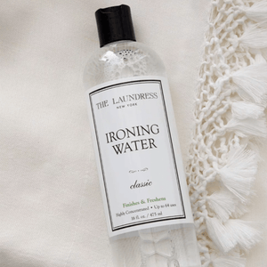 How To Use Ironing Water