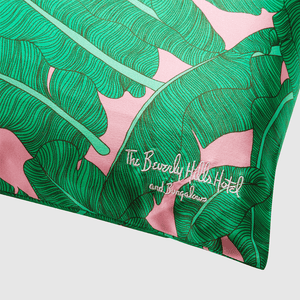 Beverly Hills Hotel Collab Travel Size Silk Pillow