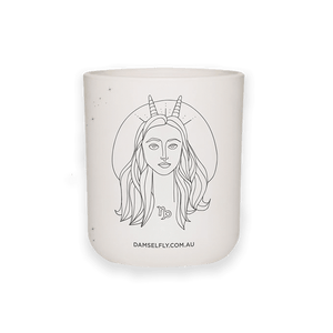 Damselfly Capricorn LRG Candle