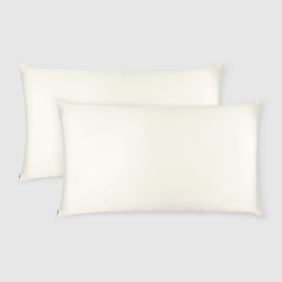 Made To Order - Off White Silk doona Cover Set (KING) - ORDER MARCH 1 - MARCH 5