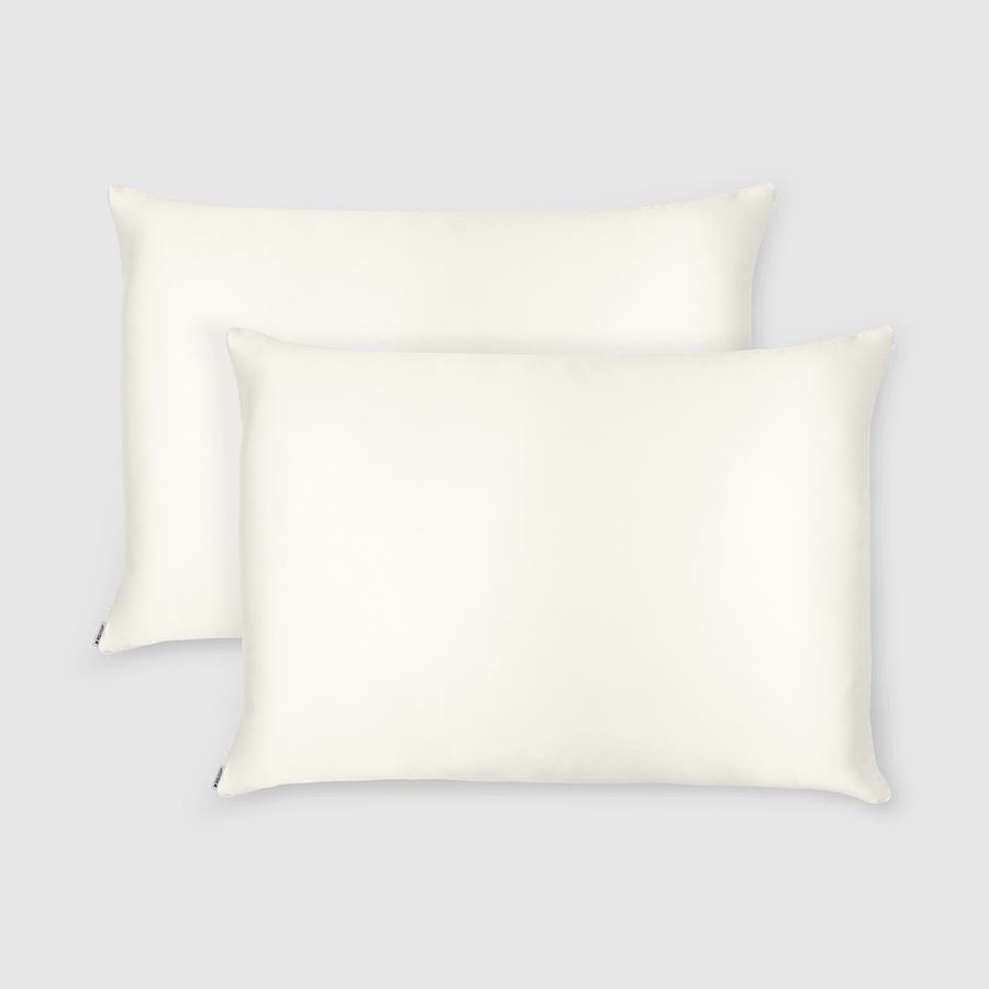 Made To Order - Off White Silk Doona Cover Set (QUEEN) - ORDER MARCH 1 - MARCH 5
