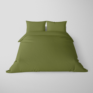 Made To Order - Sage Silk Doona Cover Set (KING) - ORDER MARCH 1 - MARCH 5