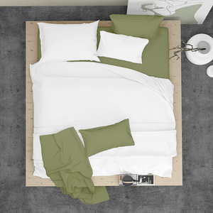 Made To Order - Sage Silk Sheet Set (KING) - ORDER MARCH 1 - MARCH 5